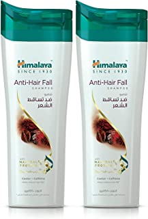 Himalaya Anti-Hair Fall Shampoo Nourishes Your Hair, Leading to a Visible Reduction in Hair Fall Due to Breakage - 2 x 400 M