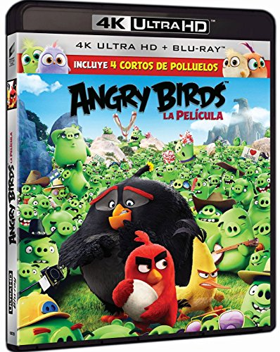 Angry Birds: La Película (4K Ultra HD) [Blu-ray]