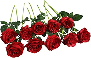 Best fake red roses Reviews