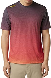 Oakley Mens Iridium Fade Tee Short Sleeve Shirt