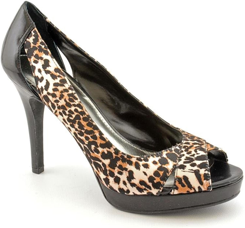 Alfani Fairfax Peep Toe Faux Suede Pumps Heels shoes