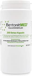 Bentonite Med 200 Detox Capsules for 33 Days