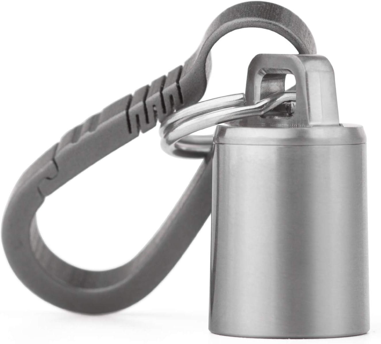 Latest item Micro Keychain Pill Holder.TISUR Super beauty product restock quality top! Titanium Waterproof Case P
