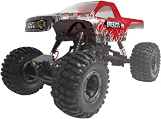 Redcat Racing Everest-10 Electric Rock Crawler with Waterproof Electronics, 2.4Ghz Radio Control (1/10 Scale), Red