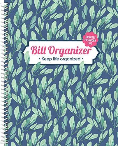 Bill Organizer Keep Life Organized Includes Password Log product image