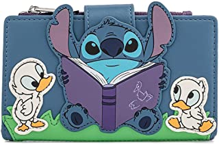 Loungefly Disney Lilo and Stitch Story Time Duckies Flap Wallet