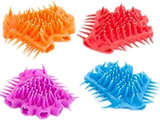 Orangoblue Kids Spiky gloves Fidget Sensory Toy, 4/Pack (colors may vary)