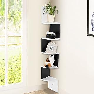 Moderna 5animales pared esquina estantes Home Storage Rack Salón Estantería unidad