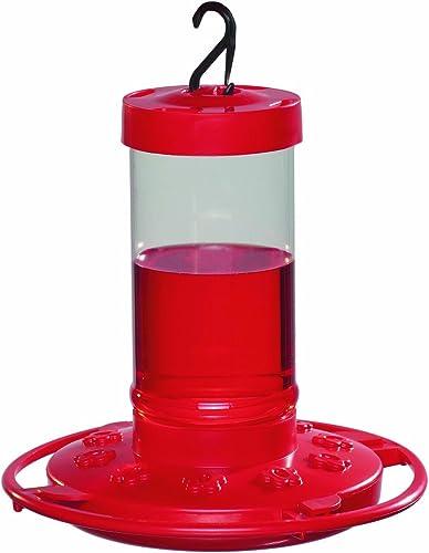 First-Nature-993051-546-16-oz.-Hummingbird-Feeder,-Red