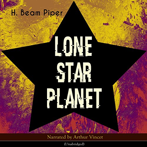 Lone Star Planet audiobook cover art