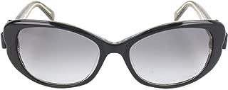 Kate Spade Women's Chandra/S PEU Bkgdglttr S 53 Lens F8 GREY SF Sunglasses