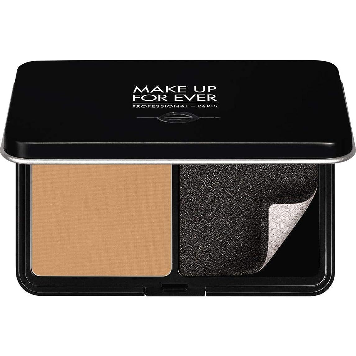 永遠に好色な締める[MAKE UP FOR EVER ] パウダーファンデーション11GののY365をぼかし、これまでマットベルベットの肌を補う - 砂漠 - MAKE UP FOR EVER Matte Velvet Skin Blurring Powder Foundation 11g Y365 - Desert [並行輸入品]