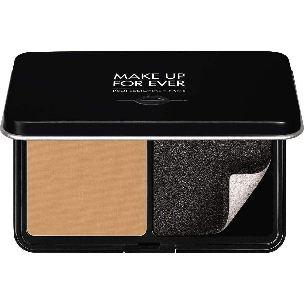 商品真実ペンス[MAKE UP FOR EVER ] パウダーファンデーション11GののY365をぼかし、これまでマットベルベットの肌を補う - 砂漠 - MAKE UP FOR EVER Matte Velvet Skin Blurring Powder Foundation 11g Y365 - Desert [並行輸入品]