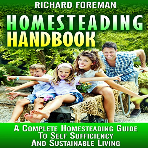 Homesteading Handbook audiobook cover art