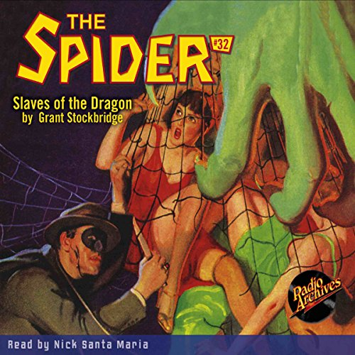 Spider #32, May 1936 cover art