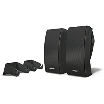 Bose 251 environmental speakers, color negro