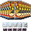 [Amazon限定ブランド] 五木食品 カチプラ 熊本もっこすラーメン 10個入(黒マー油・かやく 各5袋増量 味変可能)