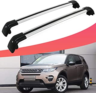 SnailAuto Silver Roof Rails Rack Cross Bars Fit for Land Rover Discovery Sport 2015-2019