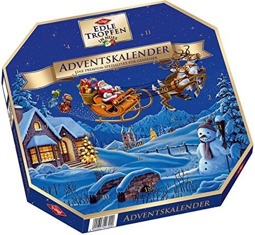 Trumpf - Edle Tropfen in Nuss Adventskalender Weihnachten - 300g