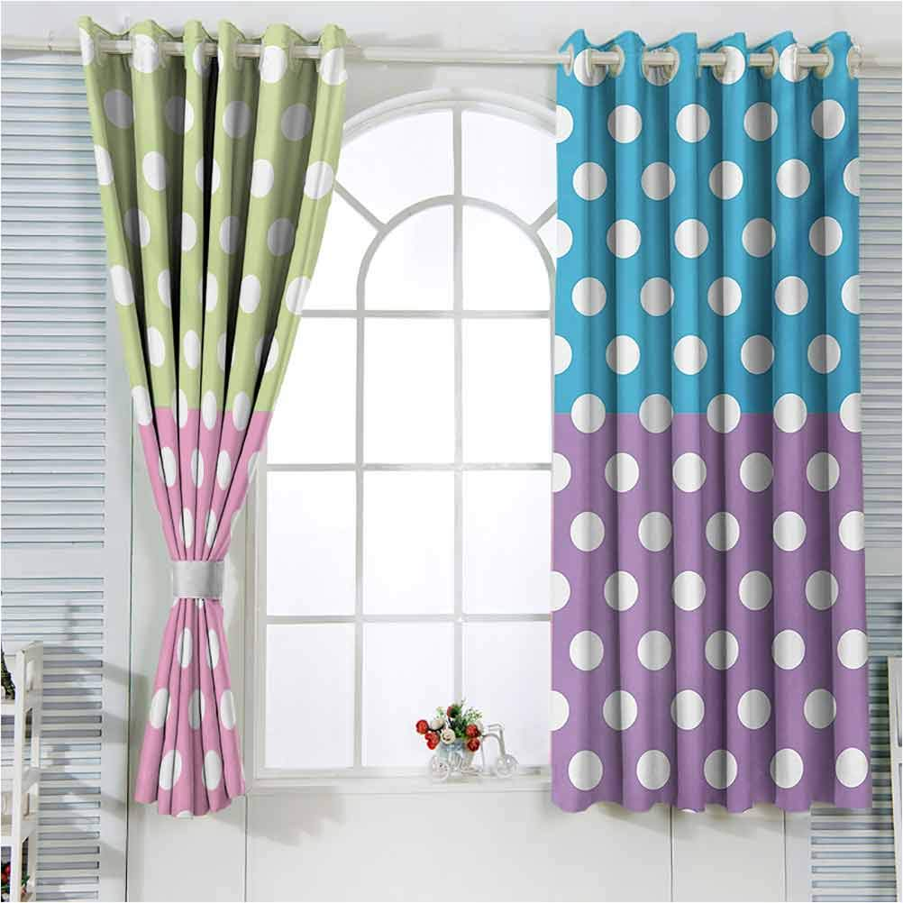 Polka Dots Nursery NEW before selling Infant Care P Curtains Modern in New product
