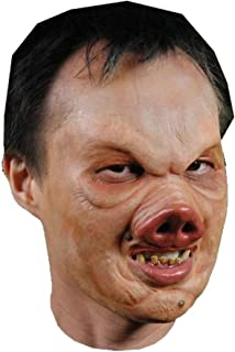 Pervis Pig Foam Latex Mask Prosthetic Professional Grade Theater Appliance