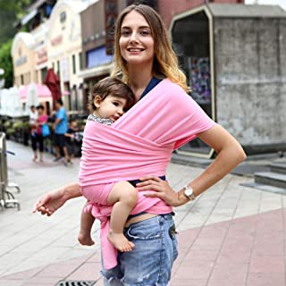 Beauenty Baby Wrap Baby Carrier Baby Sling Wrap Baby back Carrier Infant Strap Breathable Cotton Hipseat Nursing Cover for...