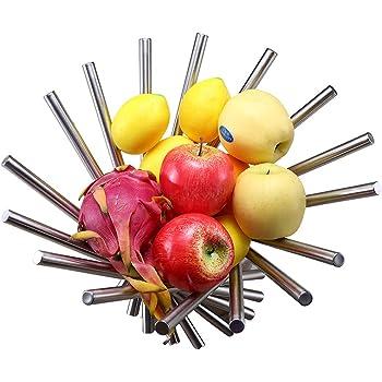 Cesta para Pan y Fruta Kesper Metal, 25,5 x 17,5 x 9,5 cm