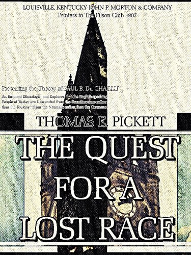 The Quest for a Lost Race (English Edition)