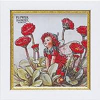 ユーパワー アートフレーム/植物・花 ダブルデイジーフェアリー W19xH19cm