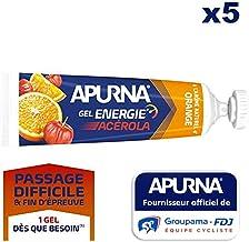 Apurna Lot de 5 gels Energie AcA rola Orange – 35g Estimated Price : £ 11,96