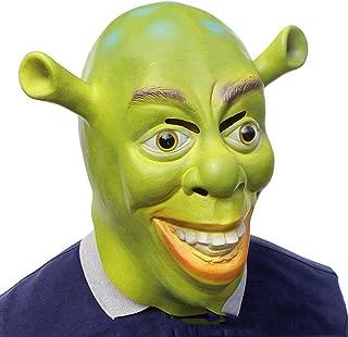 plastic shrek mask