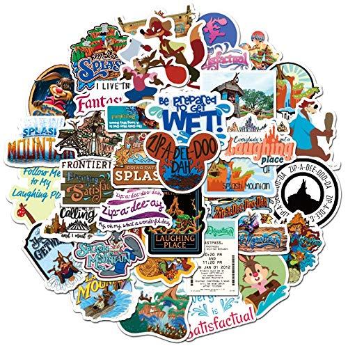 PMSMT 10/50 Uds, Pegatinas de Graffiti de montaña Salpicaduras de Juegos para niños, monopatín, Nevera, Guitarra, Ordenador portátil, DIY,PegatinaImpermeable