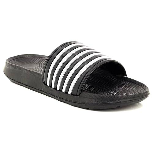 66aff9b3d20a Dr Keller Mens Sliders Shoes Summer Holiday Beach Pool Shower Sandals Flip  Flops Soft Comfortable Casual