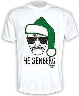Breaking Bad - Heisenberg Gorro de Papá Noel Navidad 2 - Camiseta Oficial Hombre