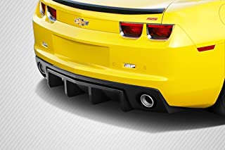 Brightt Carbon Creations ED-XSV-859 DriTech H Sport Rear Diffuser - 1 Piece Body Kit - Compatible With Camaro 2010-2013
