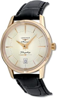 Longines Flagship Heritage Automatic 18kt Rose Gold Mens Watch L4.795.8.78.2