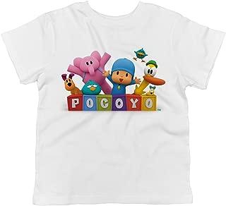 Pocoyo Toddler Pocoyo, Elly, Loula, Pato and Sleepy Bird 100% Cotton T-Shirt