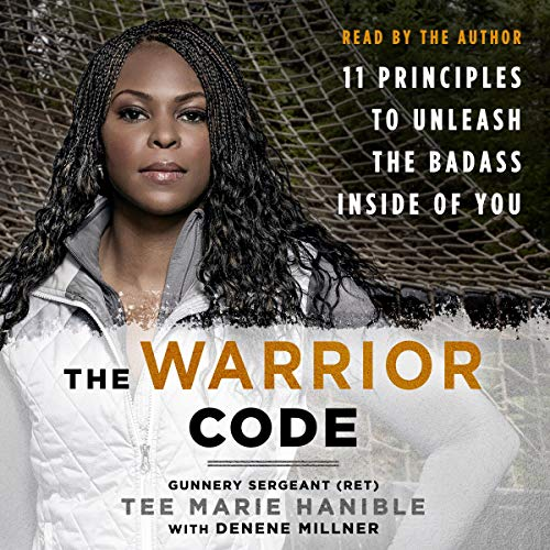 The Warrior Code audiobook cover art