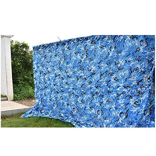 GYiYi Red De Camuflaje, Red De Sombreo Color Azul, para Toldo De ProteccióN Solar/DecoracióN De Fiestas/Bosque para Acampar/Caza/AutomóVil/Cubierta De ProteccióN Solar para Techo