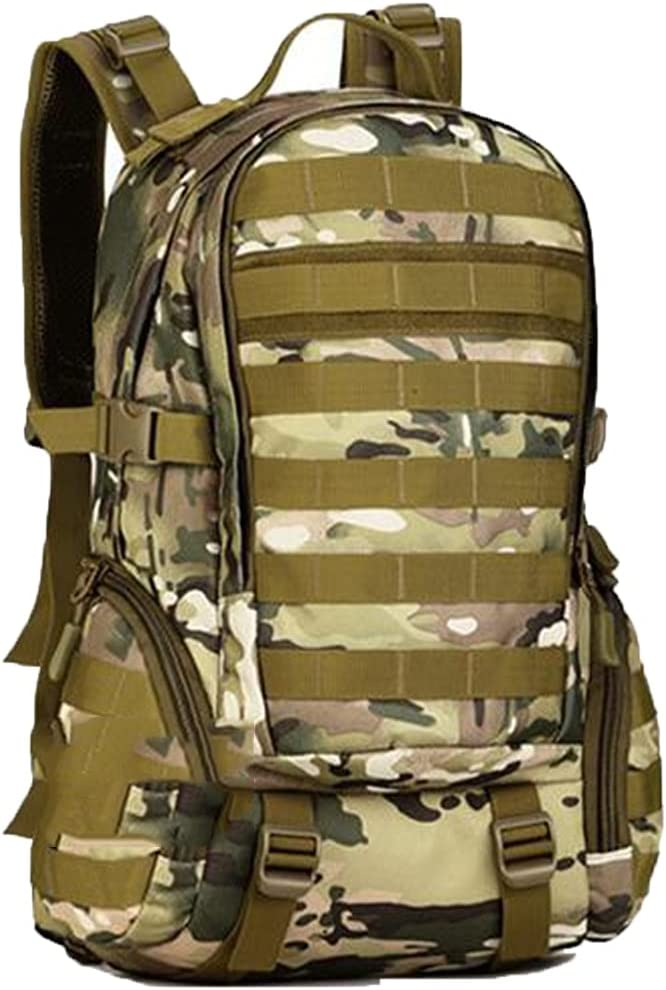 35L Military Tactical Assault Pack Backpack Army Molle Waterproof Bug Out Bag Small Rucksack Hiking Camping Hunting