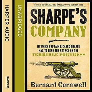 Sharpe's Company: The Siege of Badajoz, January to April 1812     The Sharpe Series, Book 13              Auteur(s):                                                                                                                                 Bernard Cornwell                               Narrateur(s):                                                                                                                                 Rupert Farley                      Durée: 9 h et 49 min     15 évaluations     Au global 4,9