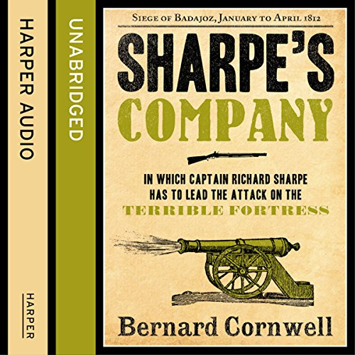 Couverture de Sharpe's Company: The Siege of Badajoz, January to April 1812