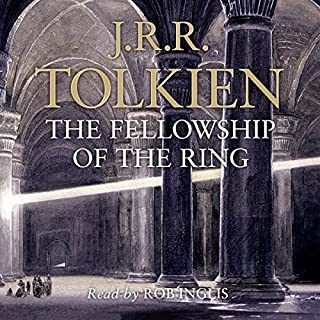 The Fellowship of the Ring     The Lord of the Rings, Book 1              By:                                                                                                                                 J. R. R. Tolkien                               Narrated by:                                                                                                                                 Rob Inglis                      Length: 19 hrs and 53 mins     5,900 ratings     Overall 4.8