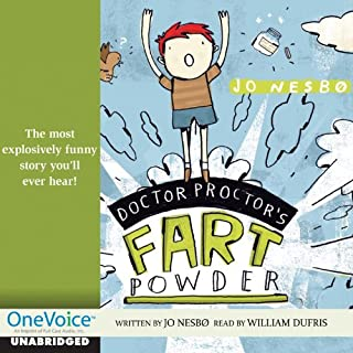 Doctor Proctor's Fart Powder audiobook cover art