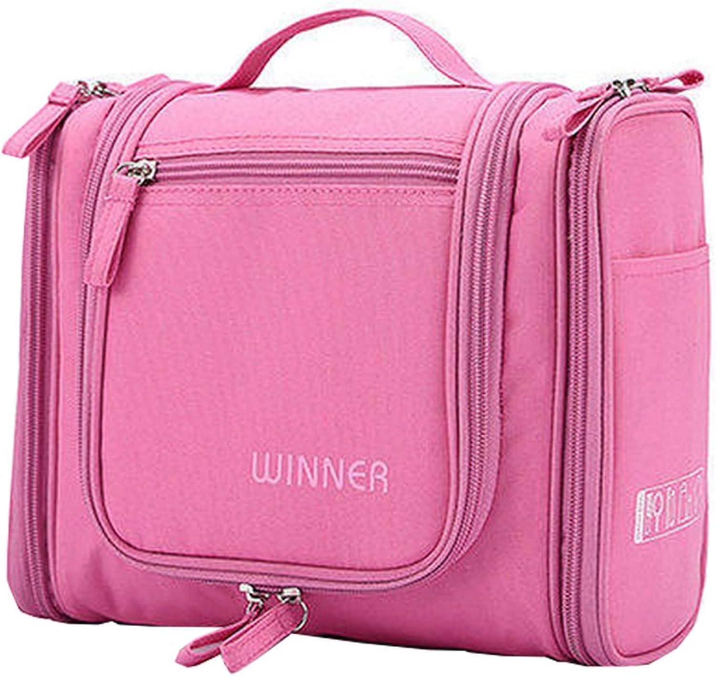 Suspensibility Portable Waterproof Wash Gargle Bag for Travel,Pink