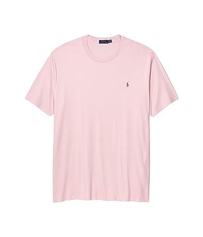 Polo Ralph Lauren Big & Tall Big Tall Short Sleeve Soft Cotton T-Shirt (Garden Pink) Men