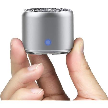 EWA A106 小型スピーカーミニスピーカー[超小型/大音量]ボータプルミニワイヤレスBluetooth スピーカー コンパクト/強化された低音/収納ボックス付け メーカー1年保証付き / 多言語取扱説明書