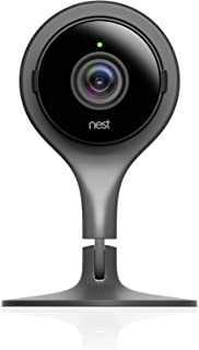 Google, NC1104US, Nest Cam Indoor, Security Camera, Black, 1