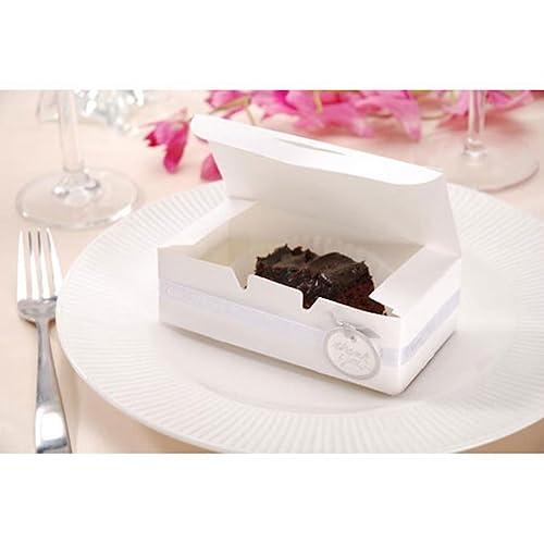 Wedding Cake Favor Boxes Amazon