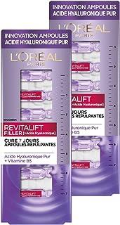 LOréal Paris – Bombillas repelentes – Cura de 7 días – Revitalift filler – concentrado en ácido hialurónico puro